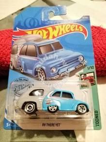 New RV There Yet Blue Tooned Hot Wheels Hotwheels