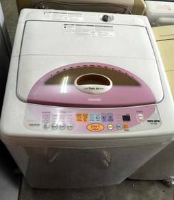 9kg Washing Pink Toshiba Mesin Basuh Recon Machine
