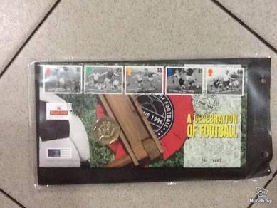 A celebration of football FDC