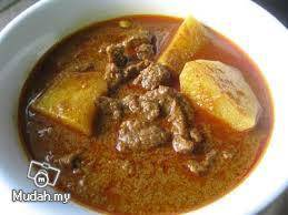 Gulai Kari Daging