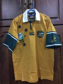 Canterbury RWC 2003 wallabies rugby jersey