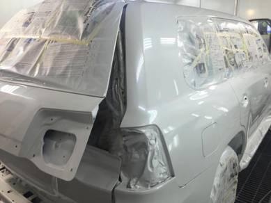 Toyota prado land cruiser full car painting
