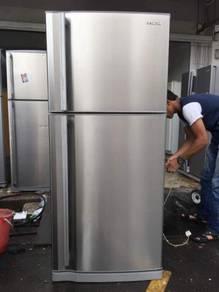 Hitachi 2 doors Big Fridge Refrigerator Peti Sejuk