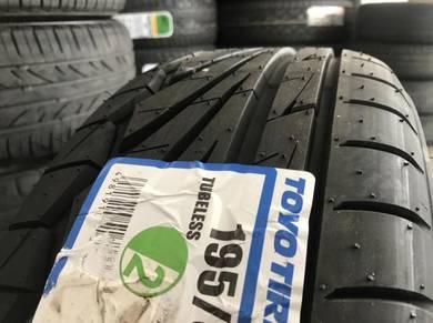 Tayar baru 195 55 15 Toyo Proxes TR1 2020 new Tyre