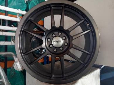 New 18 Advanti Design Rim waja vios City perdana