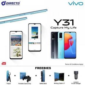 """VIVO Y31 (8GB RAM/128GB/6.58"""" FHD+) 5 HADIAH🎁"""