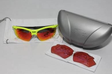 RudyProject Agon RacingPRO YellowFluo - 2 lenses