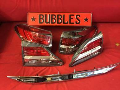 Lexus rx 350 facelift f sport tail lamp set
