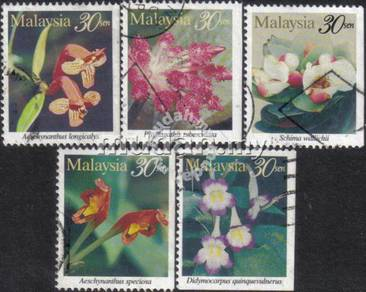 1997 Highland Flowers Of Malaysia Stamp Booklet