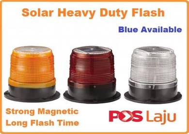 Solar Heavy Duty flashlights traffic and road safe