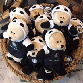 Starbucks Chengdu Panda Bearista Plush