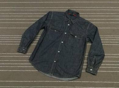 Gap denim snap button saiz m