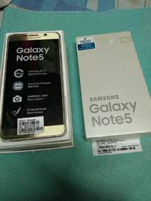SAMSUNG NOTE 5 sme like new 3 weeks use only
