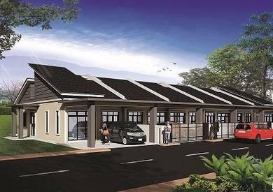 Rumah teres setingkat, Kg Pandan 2, Kuantan, Pahang (Rezab Melayu)