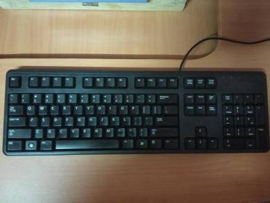 Dell keyboard USB PC Desktop