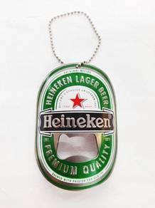Key chain heineken
