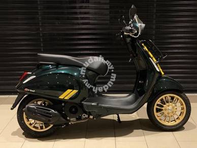 Special limited series : Vespa Sprint Racing 60s