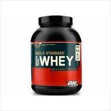 On gold standard 5lbs chocolate whey protein muscl