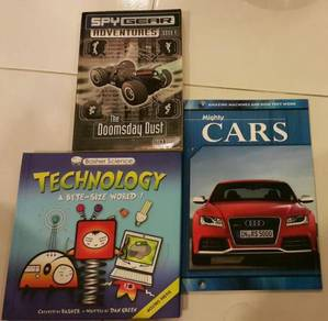 Children English book car technology spy gear