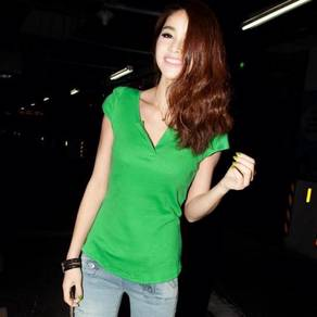 Casual Cotton Top - Green