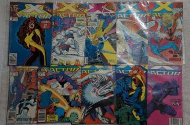 X-FACTOR. 1st series. issue 43-52. Judgement War