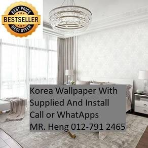 Design Decor Wall paper with Install 173K