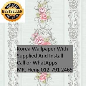 Wall paper with New Collection 821N