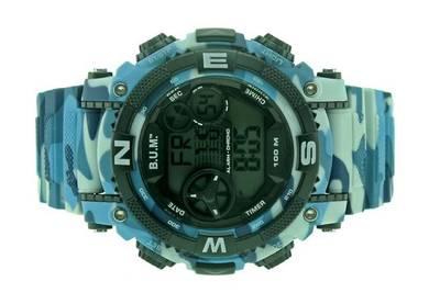 Bum Men Digital Chrono Sport Watch BF16605CM