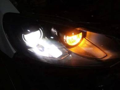 Vw Mk6 Golf-R Head Lamp (One Pair)