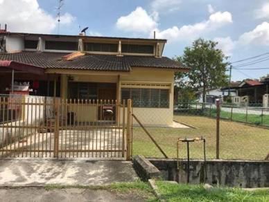 Taman Perling Jalan Simbang Single Storey Terrace House CORNER LOT