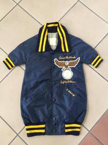 Kids satin sukajan overalls jacket vintage levis