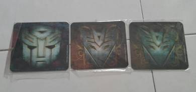 Original Transformer coasters gifts souvenir