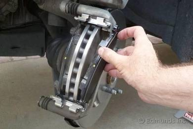 Mercedes benz break pad rebuild or replace new