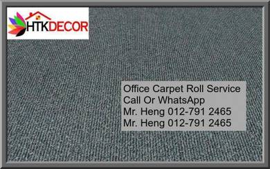 Natural Office Carpet Roll with install 435y5