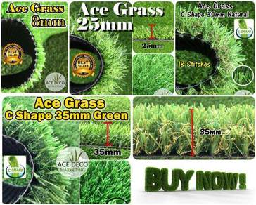 TOP QUALITY ACE Artificial Grass Rumput Tiruan 72