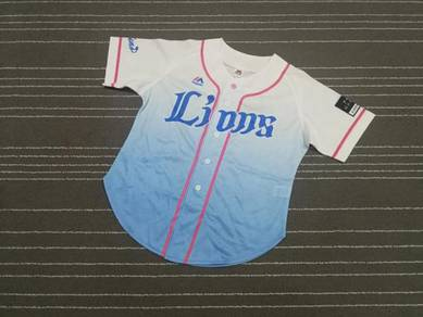 Lions baseball jerseys girl SIZE L Made in china