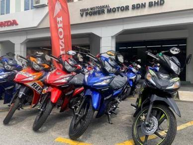 Honda dash 125 1disc (Merdeka Sales) Dp RM 1
