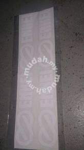 Sticker enkei white