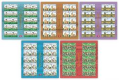 Mint Stamp Sheet Places of Worship Malaysia 2016