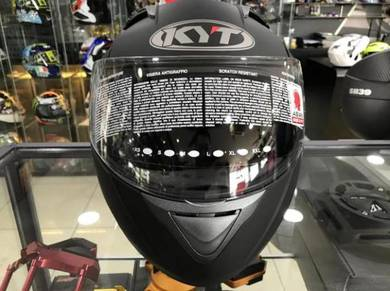 KYT Casco Convair Flip Up ~ Double Visior