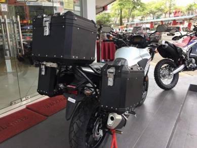 GSADV Side Top Box Aluminium ~ Honda CB500X