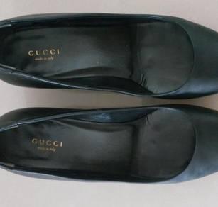 Gucci shoe shoes kasut kulit leather