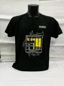 Baju Serta Cetakan Silkscreen Embroidery Heatpress