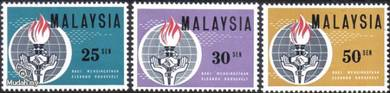 1964 Eleanor Roosevelt Stamp Malaysia MM