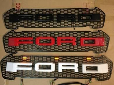 Ford Ranger XLT T7 FRONT GRILL LED