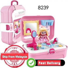 8239 Cute Pretty Girl House Backpack Childrens toy