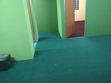 Carpet lopp x tak ada corak