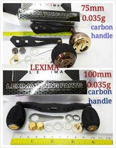S7 - Lexima Handle Carbon Knob For Fishing Reel