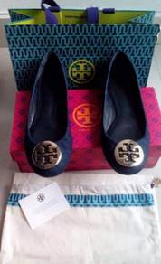 Tory burch shoe shoes kasut kulit leather