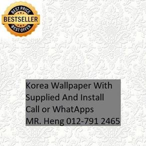 Classic Wall paper with installation 092G